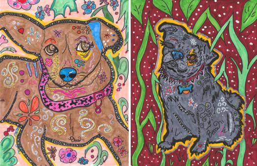 Becca Melissa Dog1 print