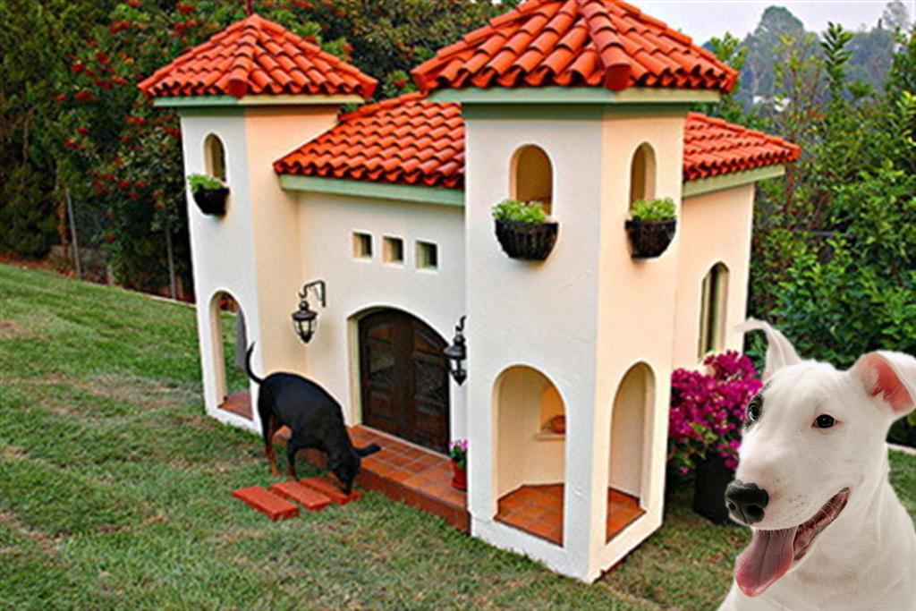 Luxury Dog Houses 11 luxury dog houses worthy of mtv cribs - barkpost
