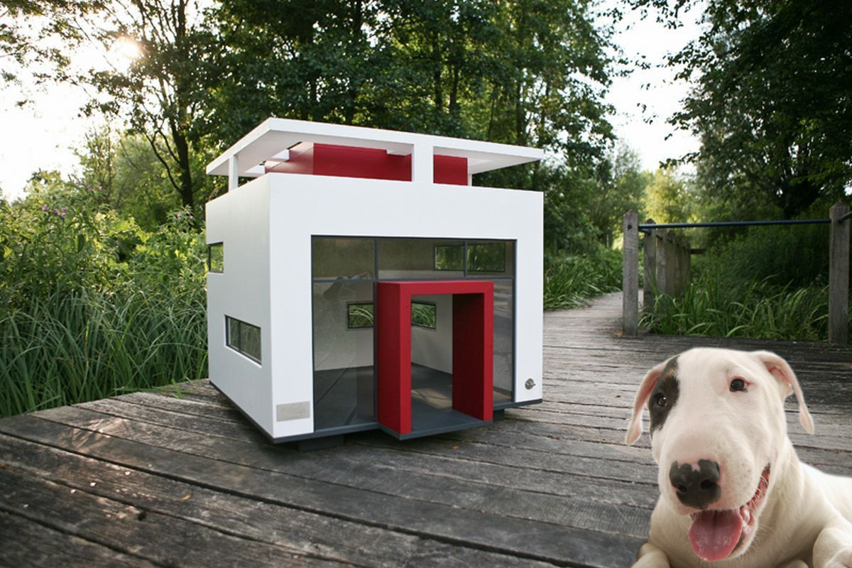 11 Luxury Dog Houses Worthy of MTV Cribs - Barkpost on designer toys, designer blankets, designer clothing, designer pools, designer cats, designer homes, designer dog doors, designer living rooms, designer gifts, designer apparel, designer flowers, designer dog rooms, designer closets, designer dog shoes, designer dog jewelry, designer dog gates, designer dog clothes, designer books, designer baby boutique, designer furniture,