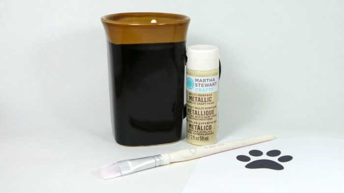 DIY Paw Print Coffee Mug - Step Four
